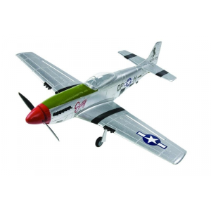 Avion radiocommande - P51 Mustang 2.4Ghz RTF Mode 2 - Modelisme Axion RC - AX-00150-012