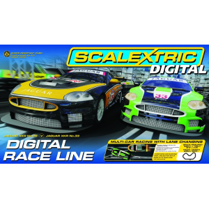 Digital Race Line - Circuit routier Scalextric - C1275