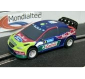 Voiture Ford Focus Abu Dhabi pour circuit Scalextric. - SCAG2097