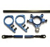 SST-22  - Carbon tail pushrod system - blue - Quick UK - SST-22