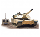 Char RC Abrams M1A2 1 / 16 RTR Camouflage Sable - HE0817