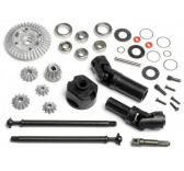 kit de conversion 4wd wheely - HPI-87602