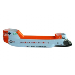 002477 - Fuselage orange - Chinook Esky - 002477