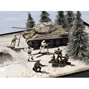 Set:T-34/85 &Infant. Russe Hiver - REVELL-03203