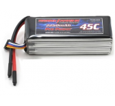 Li-Po 2250Mah 6elts 22.2V Pro Power 45C - Modelisme thunder power - TP2250-6SP45