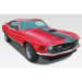 70 Ford Mustang Mach 1 2 n - REVELL-14203