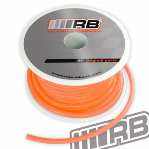 Durit silicone Orange fluo 15 metres RB - 02010-021