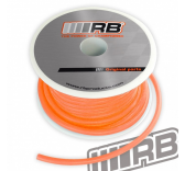 Durit silicone orange fluo 90cm - 02010-025