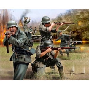 Maquette Revell - Infanterie Allemande WWII - REVELL-02598