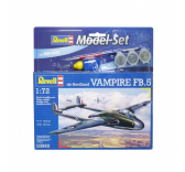 Modelisme maquettes - Model Set De Havilland Vampire FB.5 - Revell - REVELL-63993