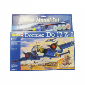 Modelisme maquette - Model Set Dornier Do 17 Z-2 - Revell - REVELL-64655