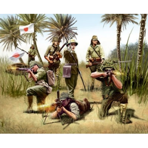 Maquette militaire revell - Infanterie Japonaise WWII - REVELL-02528