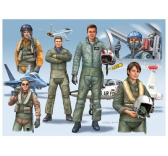 Maquette personnage militaires - Nato Pilots D/GB/USA Mordern - Revell - REVELL-02402