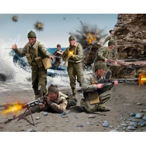 Maquette personnage militaires - Commandos britanniques WWII - Maquette revell - REVELL-02530