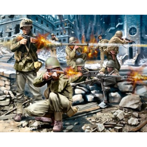 Maquette revell - Infanterie US WWII - ASAISIR02599