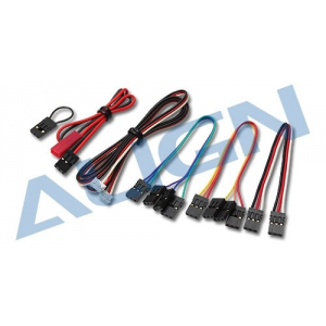 Modelisme align - Cables de connection G800 - HEPGS801