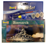 Maquette revell - Model Set Bismarck - 65802