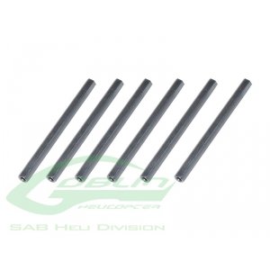 h0239-s Barres support chassis Goblin 500 - SAB HD - H0239-S