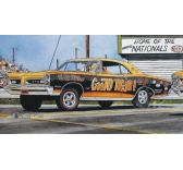 Maquette voiture revell - Royal 66 Pontiac GTOW/Figure - REVELL-14037