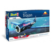 Maquette avion - T-28B Trojan The Flying Bulls - REVELL-05726