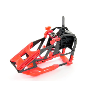 Carbon Fibre Frame Set -Blade 130X ( Red )
