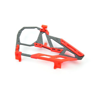 Spare Right Panel for CF Frame -B130X ( Red )