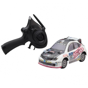 Mini-Z Comic Racer Subaru WRX Ready Set Kyosho - 32251N-B