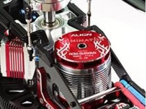 Motorisation maximale 850MX 490KV