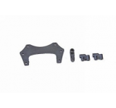 90166.52 Support servo + renvoi de direction Roadfighter Graupner - 90166-52