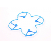Protection d helice bleu Hubsan X4 H107C - H107-A21
