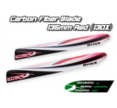XCB135-A - Carbon Fiber Blade 135mm - Red (130X)