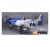 P51 Petie 2nd (V8) PNP kit 1400MM FAMOUS - FMS008-V8PI