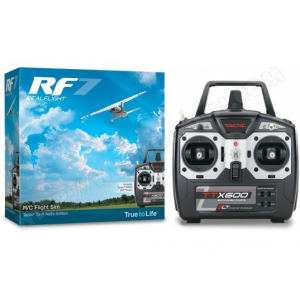 RealFlight 7 + Telecommande TTX60 2.4Ghz Mode 2