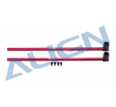 H15T002XR-Tube de queue rouge T-rex 150 - Align - H15T002XR