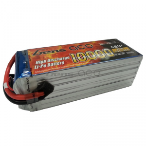 Gens ace 10000mAh 22.2V 25C 6S1P Lipo Battery Pack for DJI S800