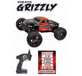 Monster Truck RC Pirate Grizzly -  Brushless 1/8 4WD 3 differentiels RTR 2,4GHz - T4915