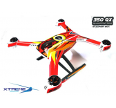 Pre-Cut Body Sticker Set (Red) -Blade 350QX