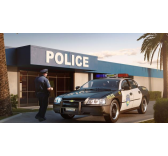 Model Set Chevy Impala Police Car - Revell - 67068