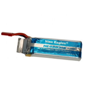 Accu Lipo 1200mAh 3.7V 1S GV3 - Nine-Eagles - NE252914
