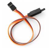 Rallonge servo JR avec securite 300mm 26AWG (0.32mm²) (10pcs)