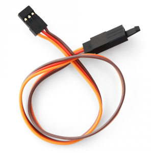 Rallonge servo JR avec securite 900mm 26AWG (0.32mm²) (10pcs)