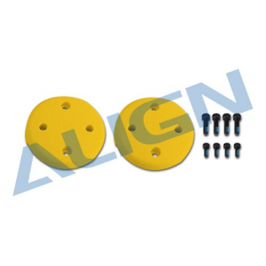 M480017XE Couvre rotor jaune - Align - M480017XE