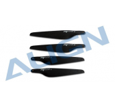 MD0700A Helices 7  Carbone noires - Align - MD0700A