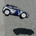 Losi Voiture Micro Rally Car Silver 1/24 Brushless avec radio 2.4Ghz