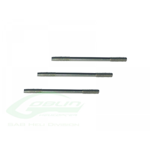 THREADED RODS M2.5 X 40 X 3PCS - HC242-S