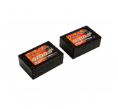 Gens Ace 5700mAh 7.4V 50C 2S3P Saddle Lipo Battery 12#(EFRA approved) - B-50C-5700-2S3P-Saddle-12