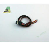 Cordon servo JR 30cm - cable 0,15mm² A2PRO