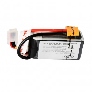 TATTU 1800mAh 11.1V 75C 3S1P Lipo Battery Pack - TA-75C-1800-3S1P