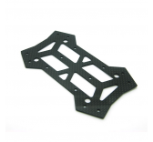 Plaque Carbone chassis inferieur pour chassis 250 Quadcopter