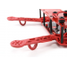 Color250 MiniQuadCopter Frame ROUGE